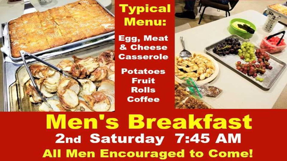 Sat. Morning Men's Fellowship