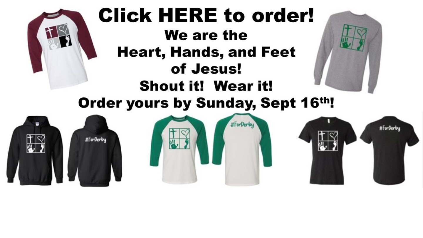 Heart, Hands, and Feet T-Shirts